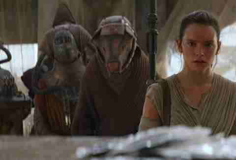 aliens from Star Wars The Force Awakens