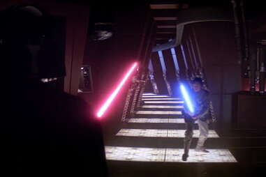 luke and darth vader duel - empire strikes back
