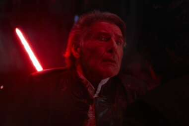 han solo death - star wars the force awakens