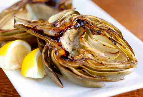 Grilled Artichoke at Balboa Cafe