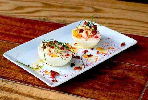 Deviled Eggs at Atlas Tap Room