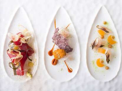 Seafood Appetizers at Michael Mina