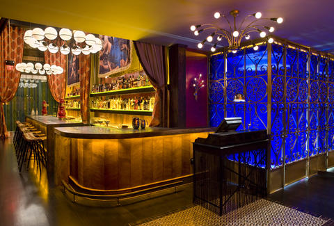 Interior of Bar at Gitane