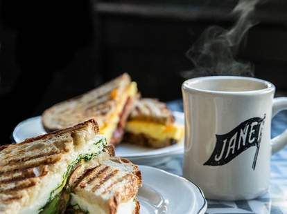 Jane on Fillmore coffee sandwich plate thrillist