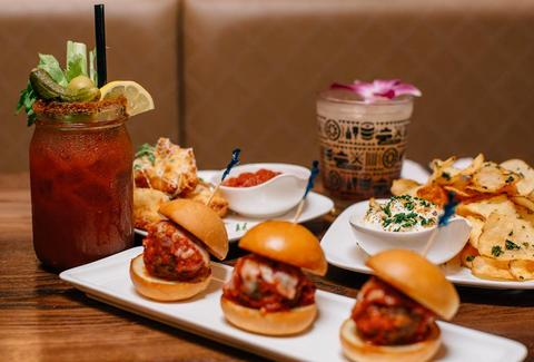 Harry's Bar sliders drinks san francisco thrillist