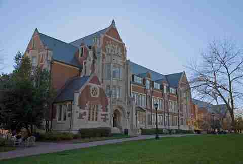 Agnes Scott College as featured in Scream 2