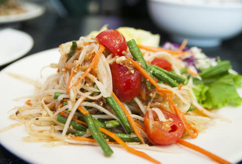 Papaya Salad at King of Thai Noodle House