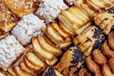 pastry, pastries. pastry cookies