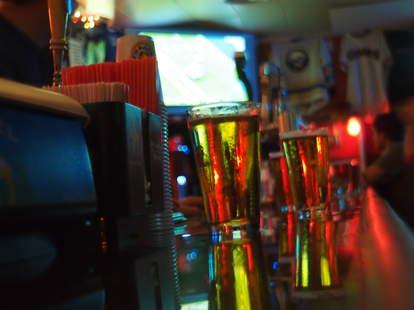 Beers at NorthStar Cafe