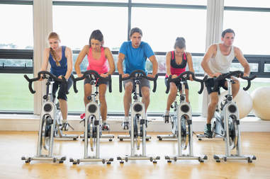 indoor cycling, cycling class