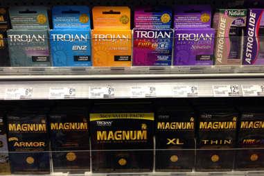 trojan and magnum condoms