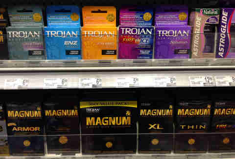 trojan and magnum condoms