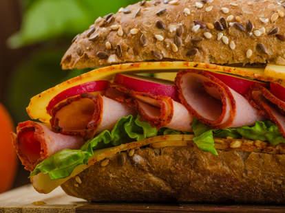 sub, sub sandwich