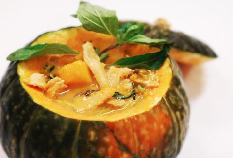 squash dish from Koh Samui & The Monkey