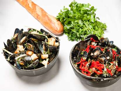 Mussels at Plouf