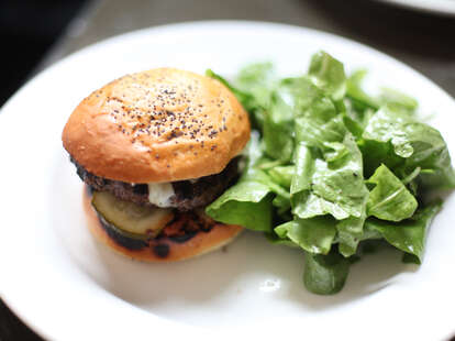 burger at Citizen's Band
