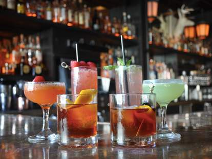 Cocktails at Reed & Greenough