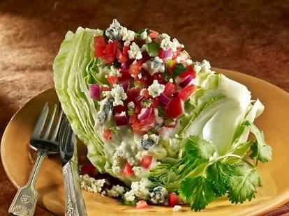 wedge salad at Blue Fog Market