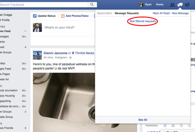 There Is Another Hidden Inbox on Facebook