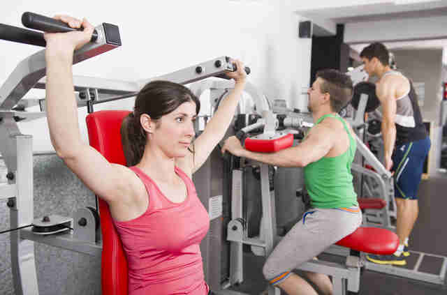 stationary exercises, exercise machines