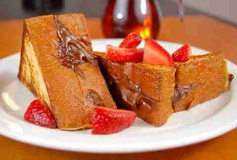 breakfast nutella french toast