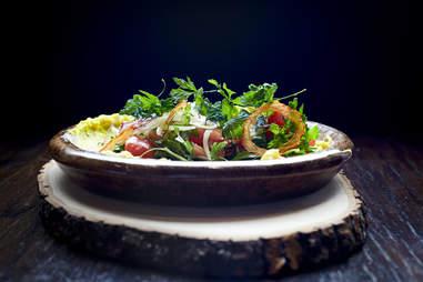 The Gadarene Swine, The Gadarene Swine salad
