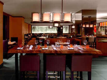 Interior of Dining Room at Parallel 37