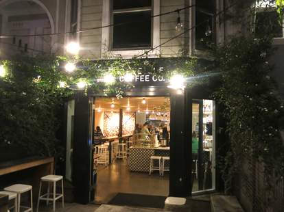 outside looking in reveille coffee california thrillist