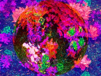 psychedelic colors