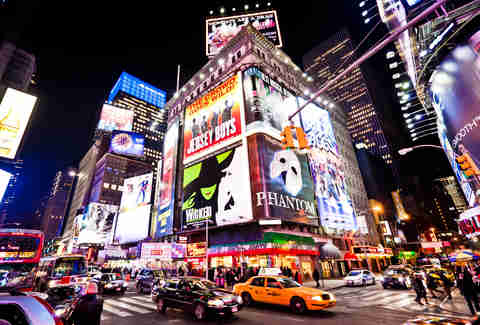 Times Square NYC, Broadway