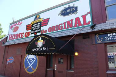 Anchor Bar in Buffalo
