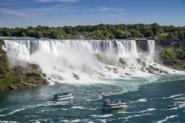 tour boats for Niagara Falls