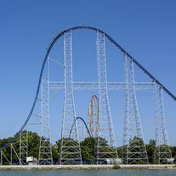 Millenium Force at Cedar Point