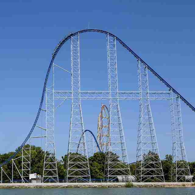 Millenium Force at Cedar Point