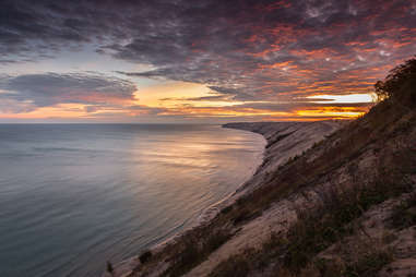 upper peninsula sunrise