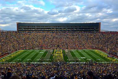 Michigan Stadium in Ann Arbor