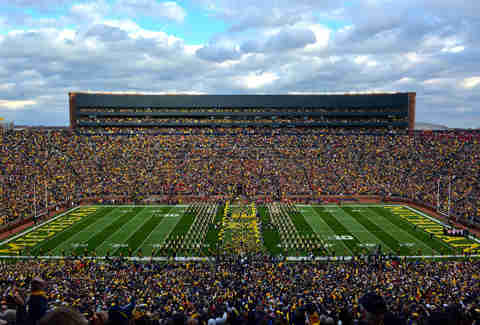 Michigan Stadium in Ann Arbor