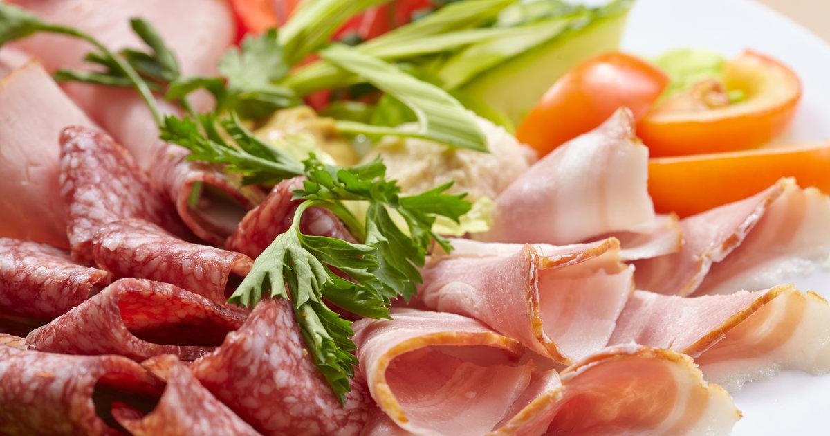 Закуски мясные с фотографиями