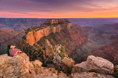 North Rim in Grand Canyon
