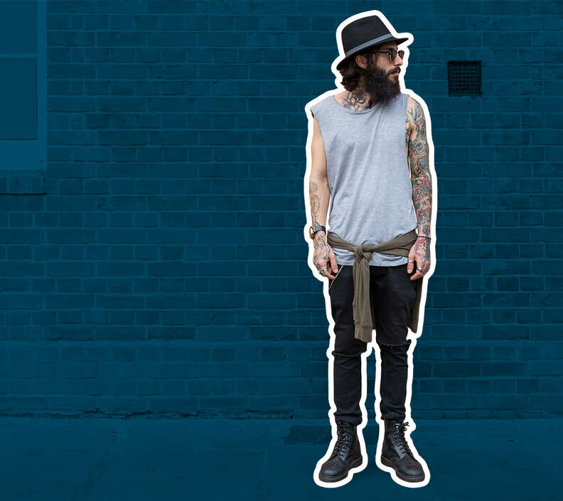 hipster fashion man trends