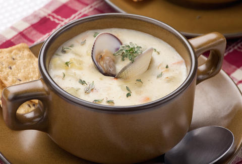 clam chowder, clam chowder soup
