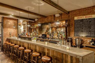 Back bar at The Penrose