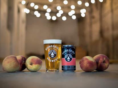 Rhinegeist Brewing, beer, peaches