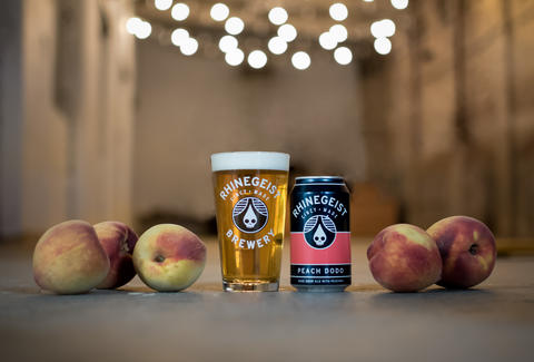 Rhinegeist Brewing, beer, peaches