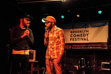 broken comedy at bar matchless