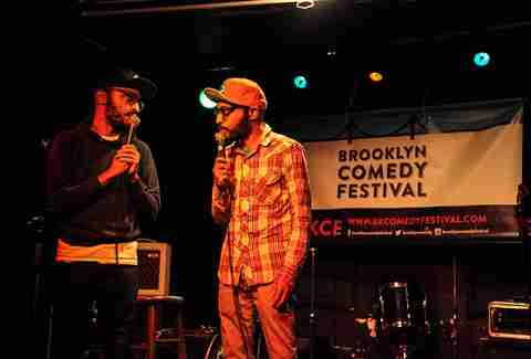 broken comedy at bar matchless