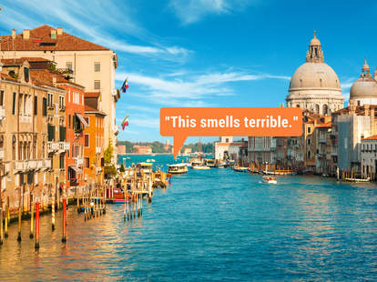 illustration of the worst things nobody says about countries they visit