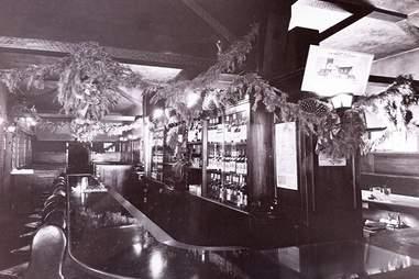interior of tom bergin's archival photo