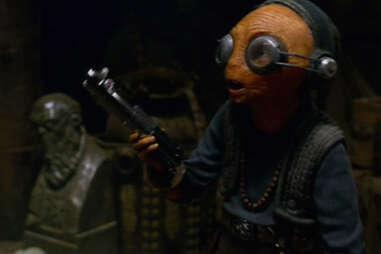maz kanata basement -star wars force awakens