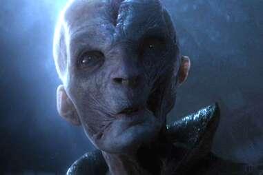 snoke - star wars the force awakens